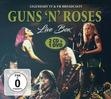 Live Box - CD Audio + DVD di Guns N' Roses