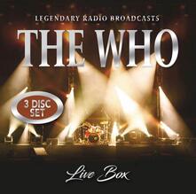 Live Box - CD Audio di Who