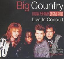 Live in Concert - CD Audio di Big Country