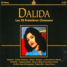 Les 50 Premières Chansons - CD Audio di Dalida