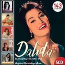 Retrospective 1956-1961 (Box Set Slimcase) - CD Audio di Dalida