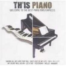 Th'is Piano - CD Audio