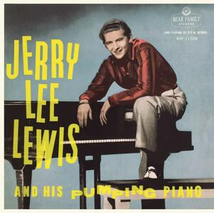 And His Pumping Piano - Vinile 10'' di Jerry Lee Lewis