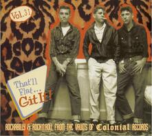 That'll Flat Git it vol.31 Colonial Records - CD Audio