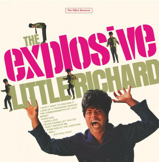 The Explosive Little Richard! - Vinile LP di Little Richard
