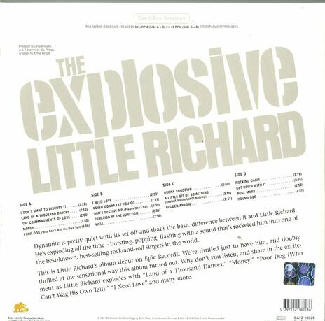 The Explosive Little Richard! - Vinile LP di Little Richard - 2