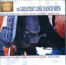 16 Greatest Line Dance Hits - CD Audio