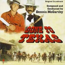 Gone to Texas-Nowhere to (Colonna Sonora) - CD Audio