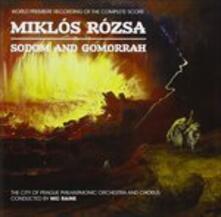 Sodom & Gomorrah (Colonna Sonora) - CD Audio