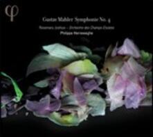 Sinfonia n.4 - CD Audio di Gustav Mahler,Philippe Herreweghe,Orchestre des Champs-Elysées,Rosemary Joshua