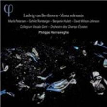 Missa Solemnis - CD Audio di Ludwig van Beethoven,Philippe Herreweghe,Orchestre des Champs-Elysées