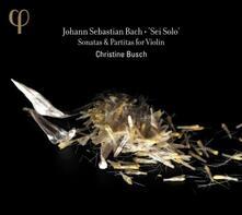 Sonate e partite per violino solo - CD Audio di Johann Sebastian Bach,Christine Busch