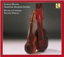 Ottetti per baryton - CD Audio di Franz Joseph Haydn