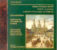 Gloria - Kyrie - Credo - CD Audio di Johann Christian Bach