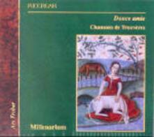Chansons dei trovieri - CD Audio