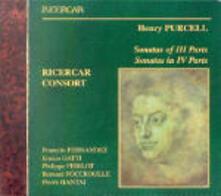 Sonate a tre - Sonate a quattro - CD Audio di Henry Purcell