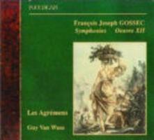 Sinfonie op.12 - CD Audio di François-Joseph Gossec
