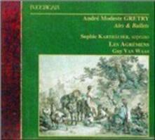 Arie - Balletti - CD Audio di André Modeste Grétry