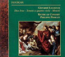 Dies Irae - Sonate a quattro viole - Mottetti - CD Audio di Giovanni Legrenzi