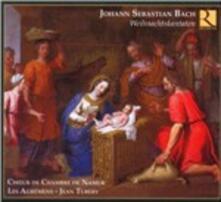 Cantate natalizie BWV133, BWV590, BWV64, BWV121 - CD Audio di Johann Sebastian Bach