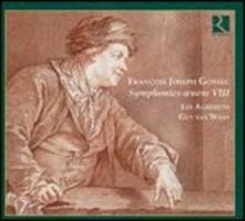 3 Grandi sinfonie op.8 - CD Audio di François-Joseph Gossec