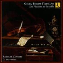 I piaceri della tavola - CD Audio di Georg Philipp Telemann,Ricercar Consort