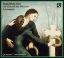 La morte e la fanciulla - Rosamunda - CD Audio di Franz Schubert,Quatuor Terpsycordes