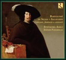 Canzoni - Fantasie - Correnti - CD Audio di Bartolome de Selma y Salaverde,Syntagma Amici