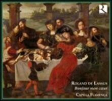 Bonjour Mon Coeur - CD Audio di Orlando Di Lasso