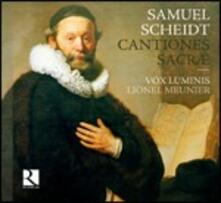 Cantiones Sacræ - CD Audio di Samuel Scheidt,Vox Luminis