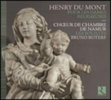 Pour les dames religieuses - CD Audio di Henry Du Mont