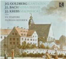 A Sunday in Leipzig - CD Audio di Johann Ludwig Krebs,Johann Ludwig Bach,Johann Gottlieb Goldberg,Florian Heyerick