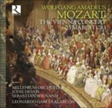 Il concerto di Vienna del 23 mazro 1783 - CD Audio di Wolfgang Amadeus Mozart