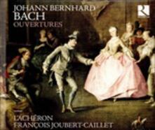 Ouvertures - CD Audio di Johann Christian Bach