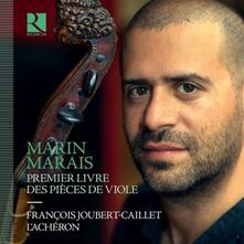 Premier livre des pièces de viole - CD Audio di Marin Marais,François Joubert-Caillet