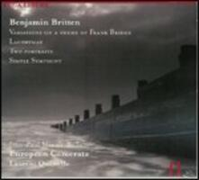 Variazioni su un tema di Frank Bridge - Lachrymae - Two Portraits - Simple Symphony - CD Audio di Benjamin Britten