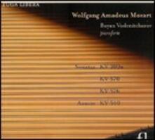 Sonate per pianoforte K300h, K570, K540, K576 - CD Audio di Wolfgang Amadeus Mozart,Boyan Vodenitcharov