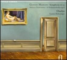 Sinfonia n.4 / 6 Lieder op.8 - CD Audio di Gustav Mahler,Arnold Schönberg
