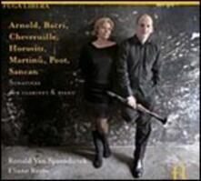 Sonatine per clarinetto e pianoforte - CD Audio