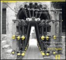 Divertimenti K247, K334 (Per L'Aquila) - CD Audio di Wolfgang Amadeus Mozart,Officina Musicale,Orazio Tuccella