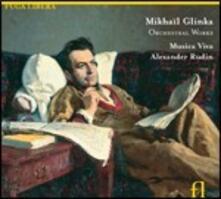 Musica orchestrale - CD Audio di Mikhail Ivanovic Glinka,Alexander Rudin,Musica Viva