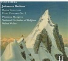 Variazioni su un tema di Haydn - Concerto per pianoforte n.1 - CD Audio di Johannes Brahms