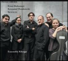 Sestetti - CD Audio di Krzysztof Penderecki,Erno Dohnanyi,Ensemble Kheops