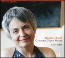 Musica per pianoforte - CD Audio di Maurice Ravel,Alice Ader