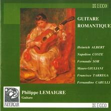 Musica per Chitarra Romantica - CD Audio di Philippe Lemaigre