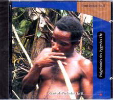 Polyphonies des Pygmee - CD Audio