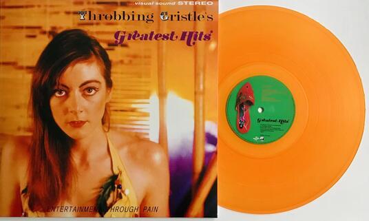 Throbbing Gristle's Greatest Hits (Transparent Orange Coloured Vinyl) - Vinile LP di Throbbing Gristle - 2