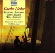 Goethe Lieder - CD Audio di Ludwig van Beethoven