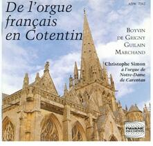 French Organ Music in Cot - CD Audio