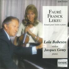 Sonate for Violin and pi - CD Audio di Gabriel Fauré